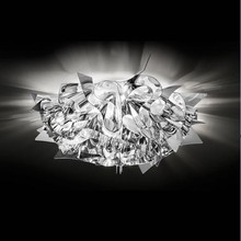 Plafoniera Slamp Veli mini silver