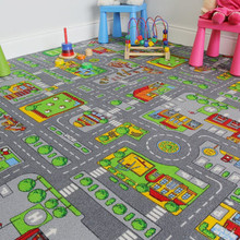 THE RUG HOUSE Tappeto per Bambini con Strade della Città