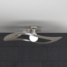 TOPLIGHT Surf 1145/PL70 TO Lampada Soffitto 70cm Tortora