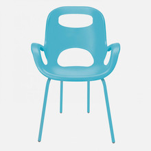 UMBRA Oh Chairs Sedia Moderna Turchese