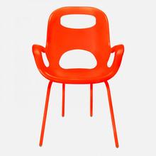 UMBRA Oh Chairs Sedia Moderna Bianca Arancione