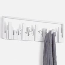 Umbra Skyline appendiabiti di design 5 posti Bianco