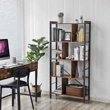 VASAGLE LBC12BX Libreria Moderna da Terra Stile Industriale