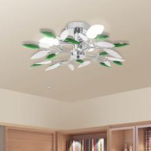 Plafoniere moderna da soffitto VIDAXL Cristalli Acrilico Verde