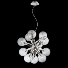 IDEAL LUX Dea SP12 074771 Lampadario Moderno 12 Luci Cromo