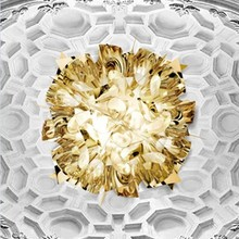 SLamp Veli gold Large parete