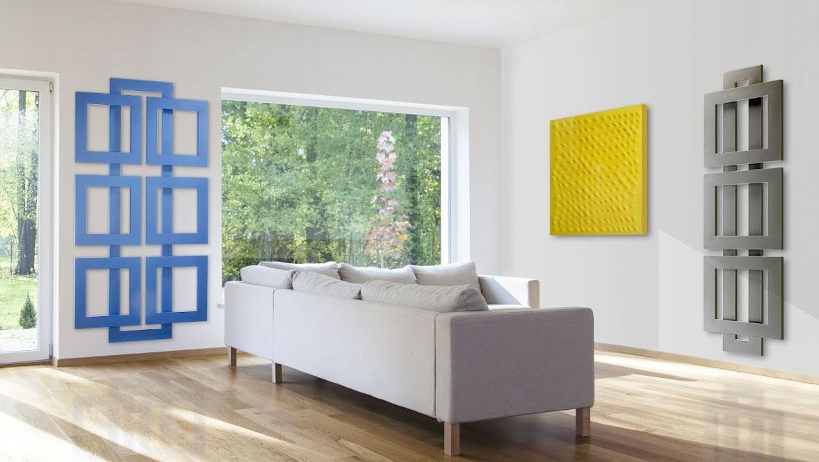 Brem i caloriferi di design che riscaldano arredando la casa for Caloriferi da arredamento