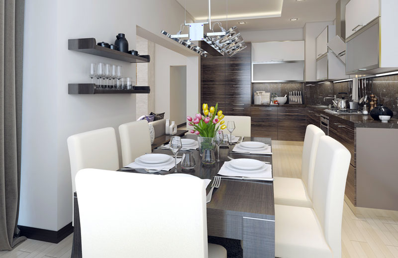 Illuminare la cucina con classe for Arredare cucine piccole