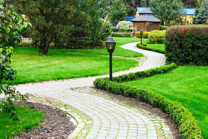 Lampade per il giardino di casa
