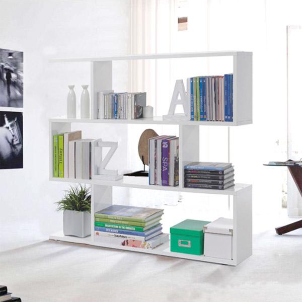 Libreria moderna da terra per arredare la camera da letto