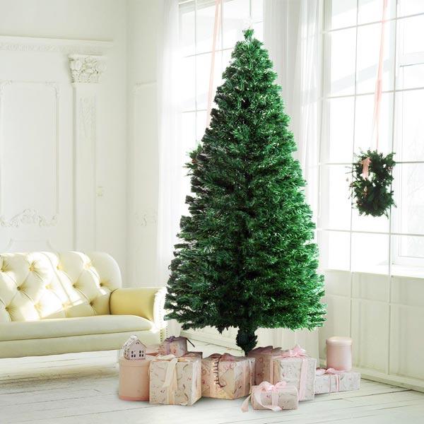 Albero di Natale Finto a LED 230 Rami 180cm