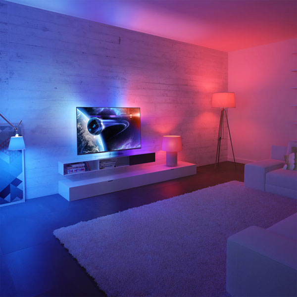 Ambientazione personalizzata Philips Hue