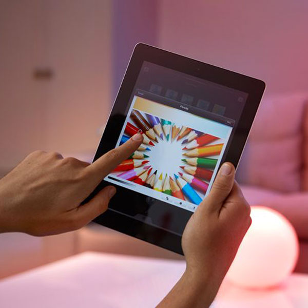 App Philips Hue su Tablet