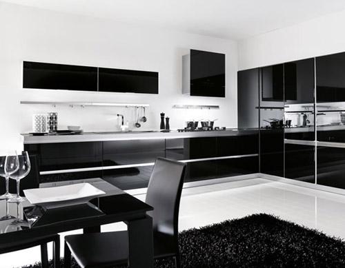 Soggiorno bianco nero idee per il design della casa for Arredamento classico bianco