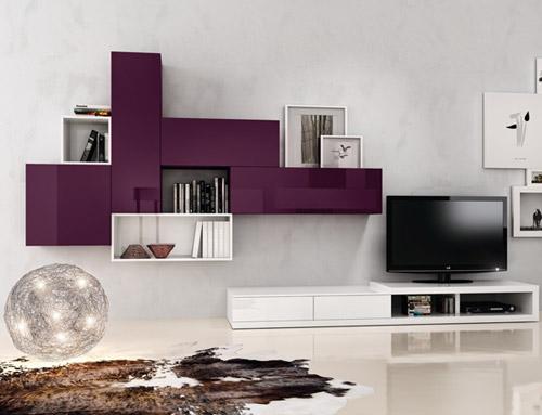 Arredamento moderno del soggiorno