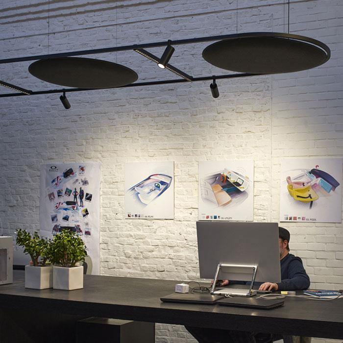 DeltaLight Soliscape per spazi lavorativi