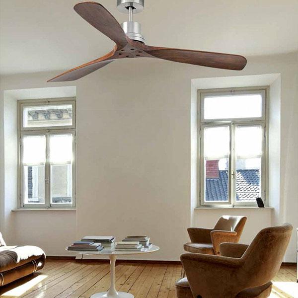 Ventilatore da soffitto con luce 3 pale Lorefar Lantau