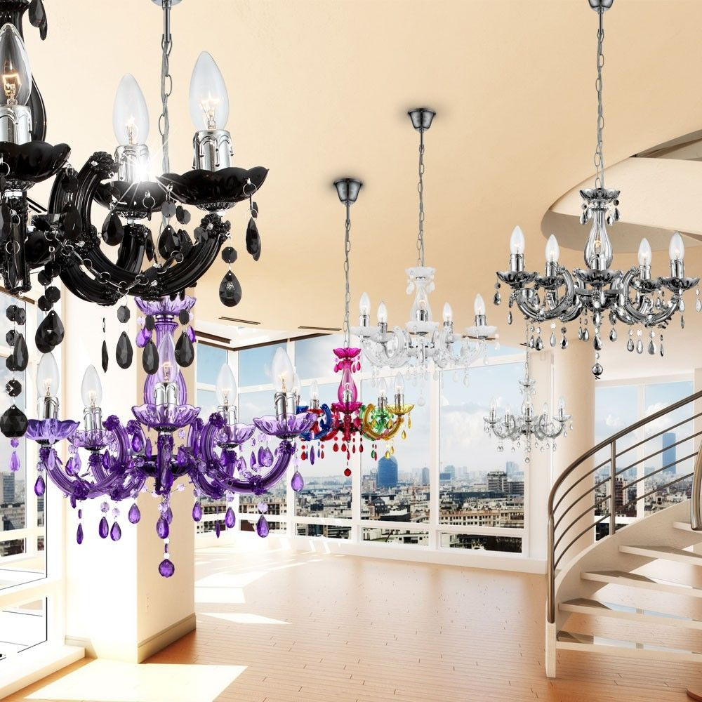 Lampadari moderni a sospensione in acrilico