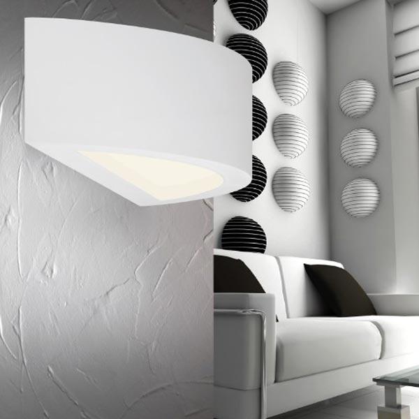 Lampada da parete per arredamento del soggiorno