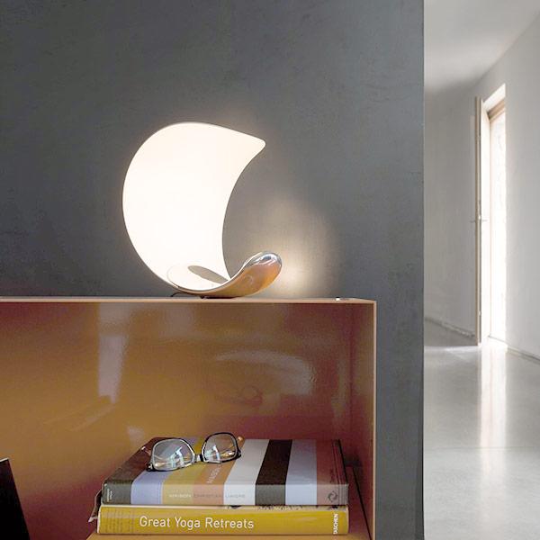 Lampada da tavolo di Design Luceplan Curl