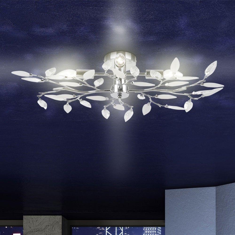 lampadari moderno : Lampadario moderno da soffitto con cristalli