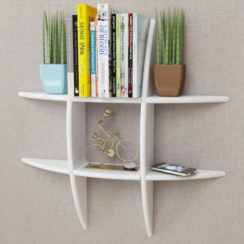 Libreria moderna da parete VidaXL