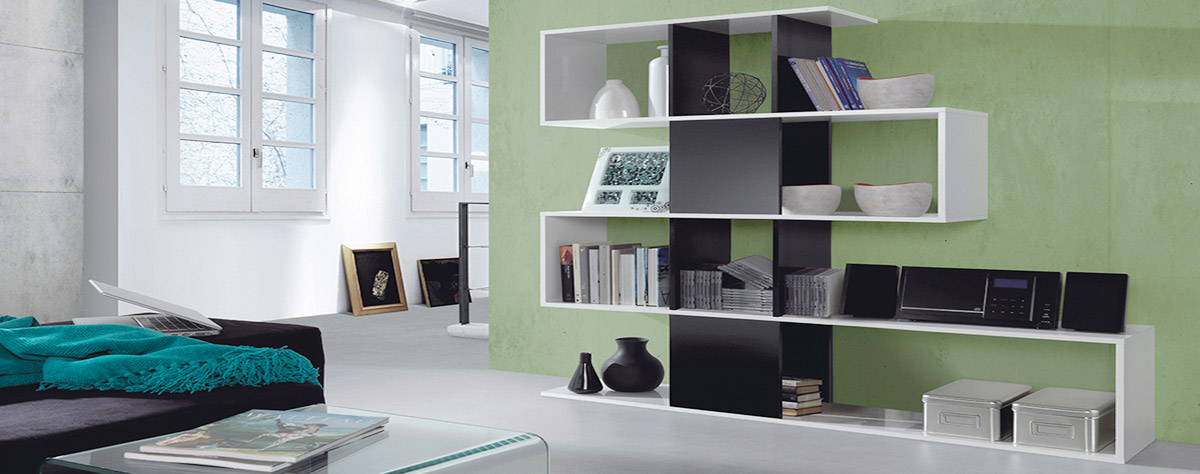 librerie bianche moderne top divisorie with librerie