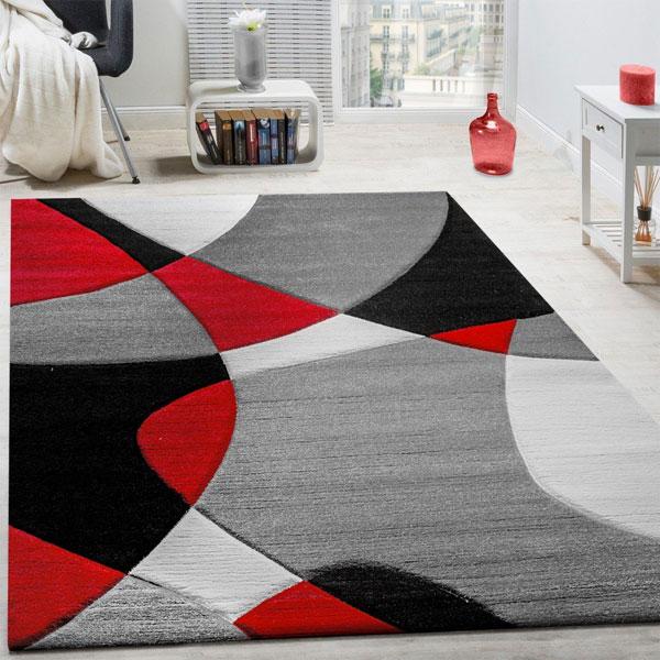 PACO HOME tappeto di design Taglio Sagomato