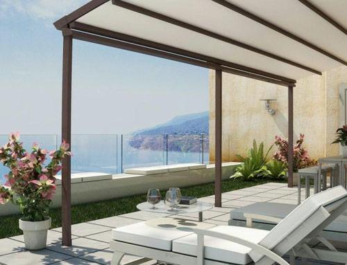 Arredamento dehors per valorizzare l 39 esterno di alberghi for Arredamento estetica usato