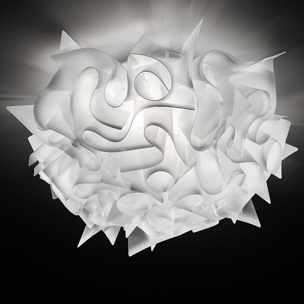 Slmap Veli bianca - Lampada da Soffitto in Opaflex