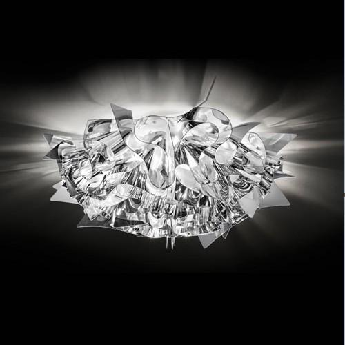 Punti luce per camera da letto Slamp Veli Silver