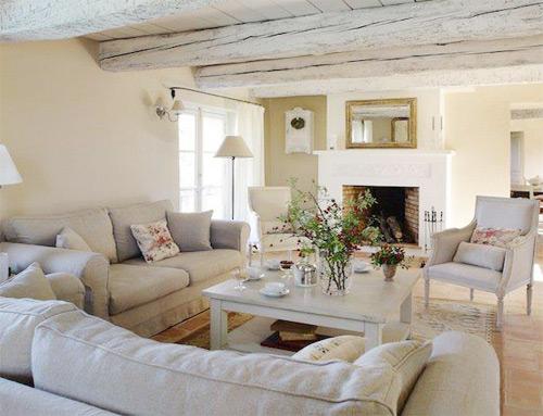 Gli ambienti shabby l 39 arredamento in stile shabby chic - Mobili soggiorno shabby ...