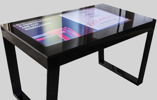 Touchwindow il tavolo interattivo tecnologicamente avanzato - Tavoli interattivi ...