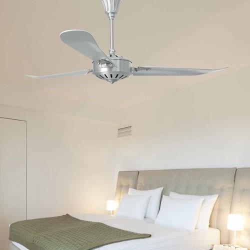 Ventilatore a soffitto per illuminare la camera da letto