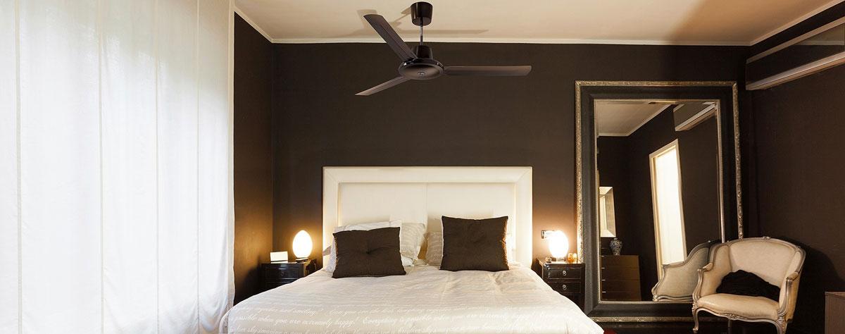 Ventilatori da soffitto con luce e senza luce arredoeluce - Pale da soffitto design ...