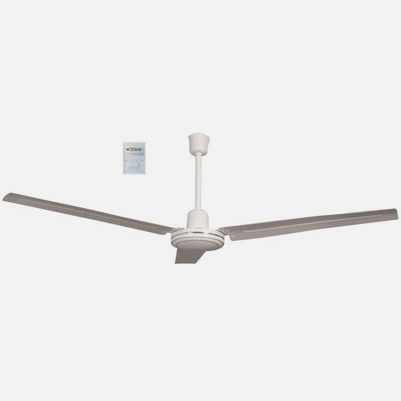 Ventilatore da soffitto con luce 3 pale - Scopri l'offerta su eBay